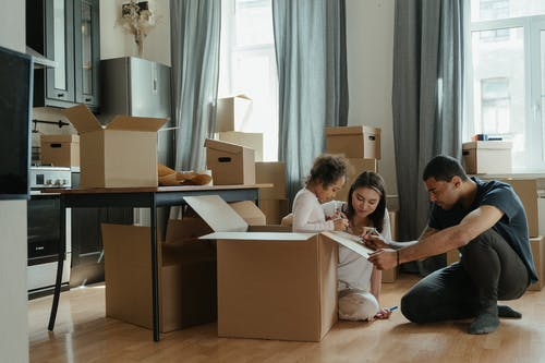 How to move out to a new home